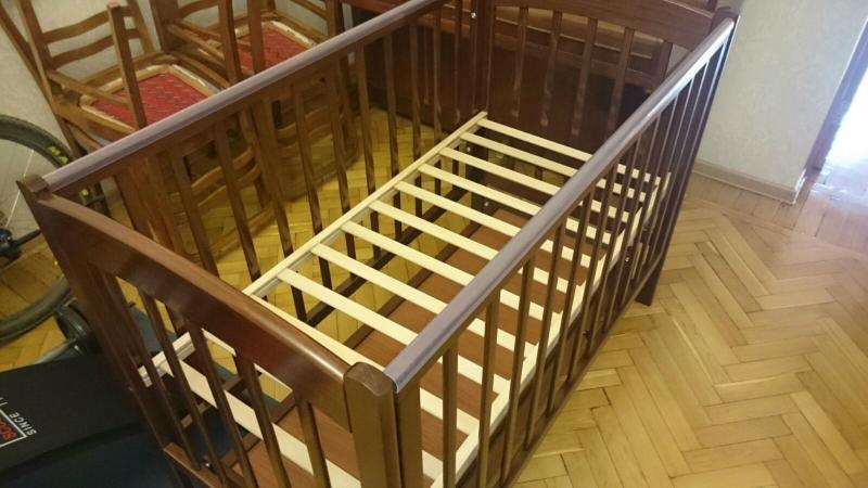 Кроватка детская Кубаночка 3 БИ 39.2 темный орехя-интернет-магазин-www.babywest.ru-детская-мебель.jpg