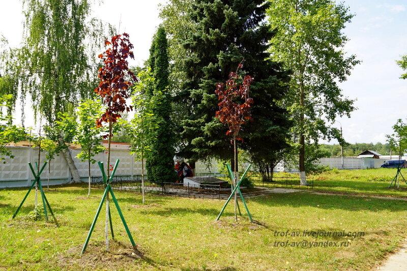 Памятник на братской могиле воинов РККА, Часцы