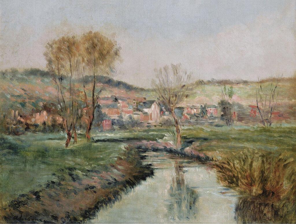 Albert Lebourg - Landscape at Ruisseau.jpeg