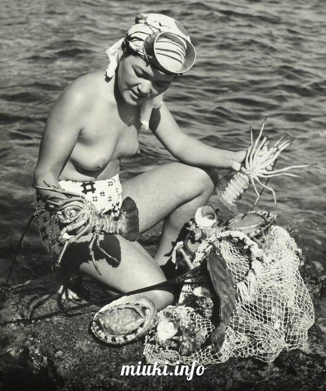 Ама - японская женщина моря