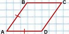 esli smezhnyie storonyi parallelogramma ravnyi