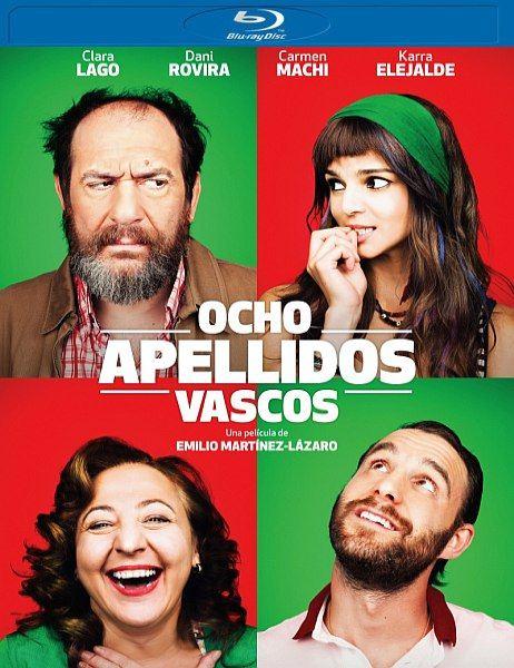 Восемь баскских фамилий / Ocho apellidos vascos (2014) BDRip 720p + HDRip