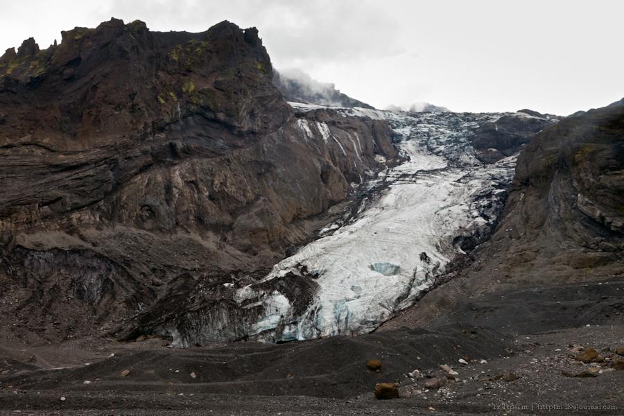 9. Ледники и водопады Эйяфьядлайокудля.