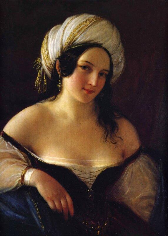 Одалиска_1845_х.,м._Триест, Государственный музей