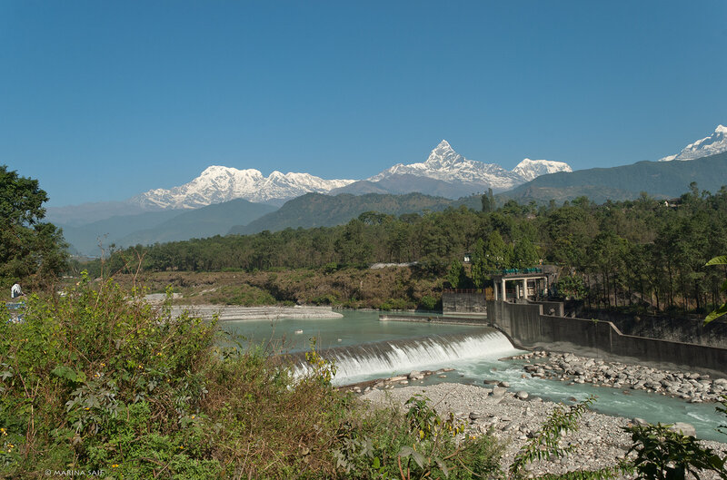 Река Seti Gandaki