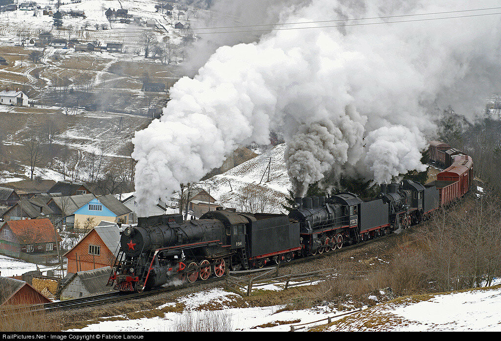 L-5141, Ukrzaliznytsya, Lazetchyna, Ukraine, February 20, 2008