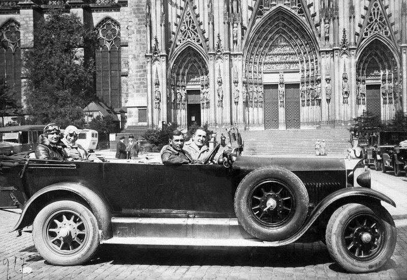 1917. Кёльнский собор Святых Петра и Марии