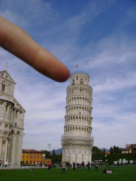 Фото у пизанской башни