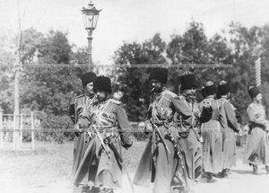 Группа офицеров конвойного полка.
