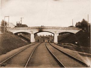 Вид моста и путепровода Росса. Вильна ст.