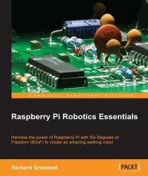 Книга Raspberry Pi Robotics Essentials