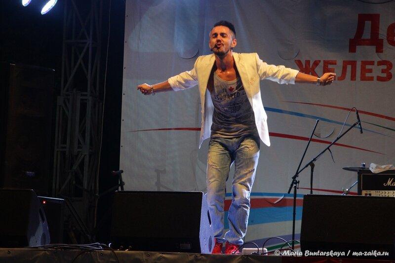 Тимур Родригез в Саратове, городской парк, 03 августа 2014 года
