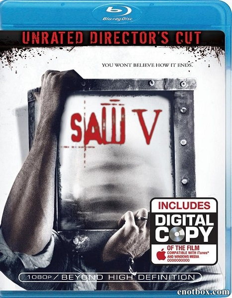 Пила 5 / Saw V [Unrated Director's Cut] (2008/HDRip)
