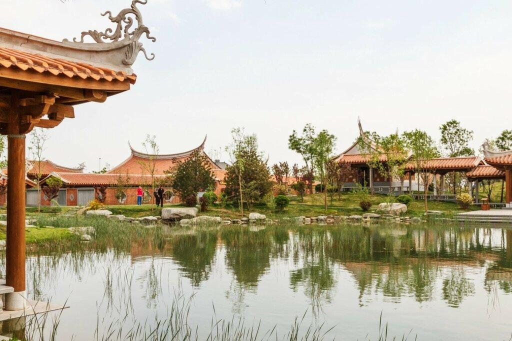 Сад Фуцзянь, Парк-выставка садов, Пекин