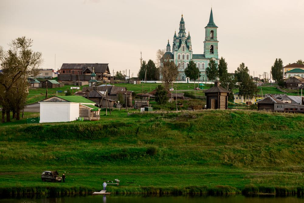 Фото 11. Церковь в деревне Нижняя Синячиха. Зеркальная полнокадровая камера Nikon D5100 и телевик Nikon 70-300