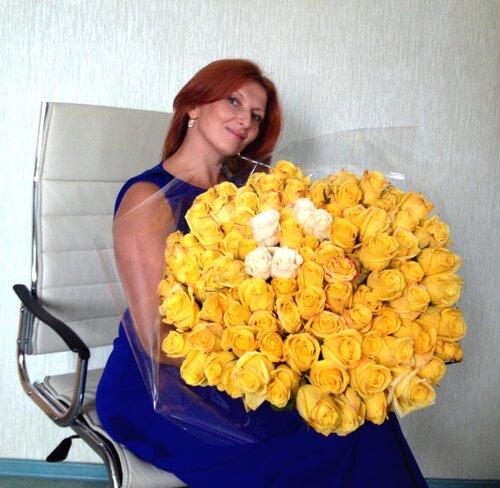 Дарите  жёлтые цветы, не верьте злым приметам )))  С днём рождения, Natali@  !!!!