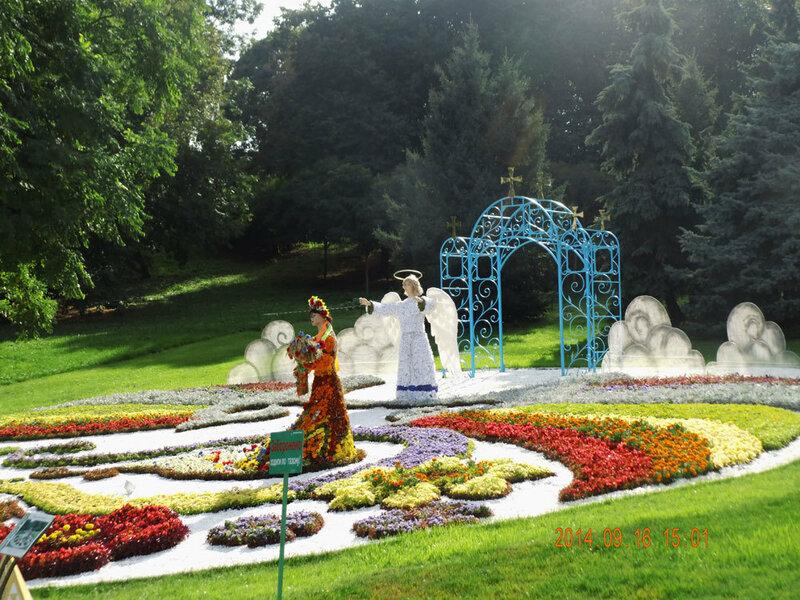 певчее поле, киев, выставка, цветов, украина