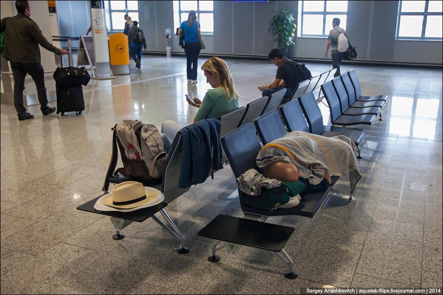 Сиденья в аэропорту