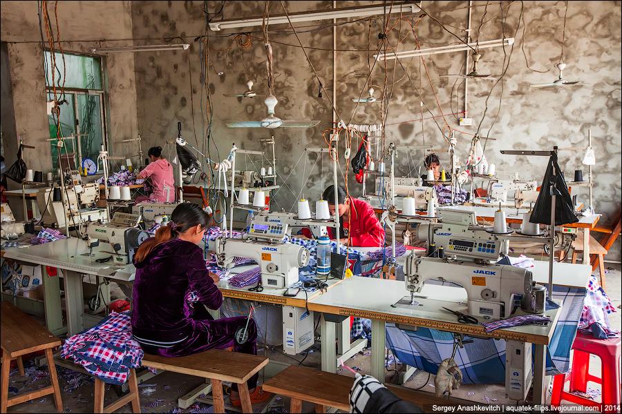 Китайская фабрика детской одежды