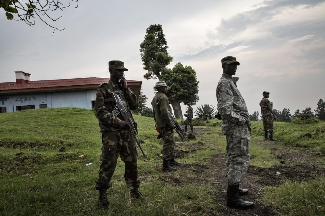 Конго - солдаты на снимках британского фотографа Marcus Bleasadale (8)
