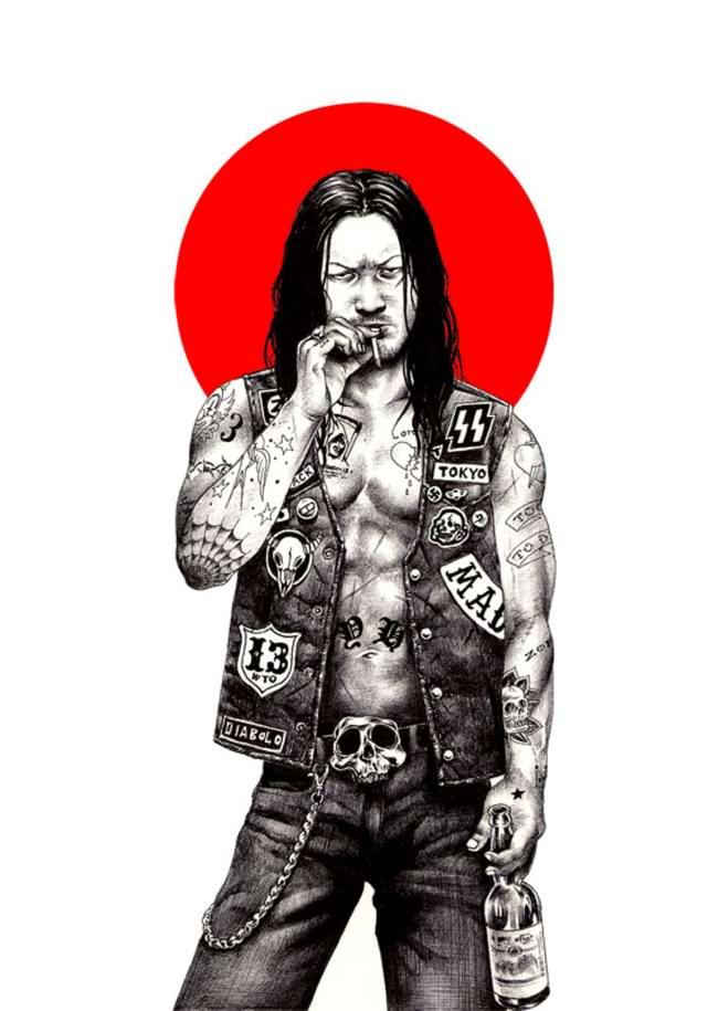 Сумасшедшие рисунки японского художника Shohei Otomo (32)
