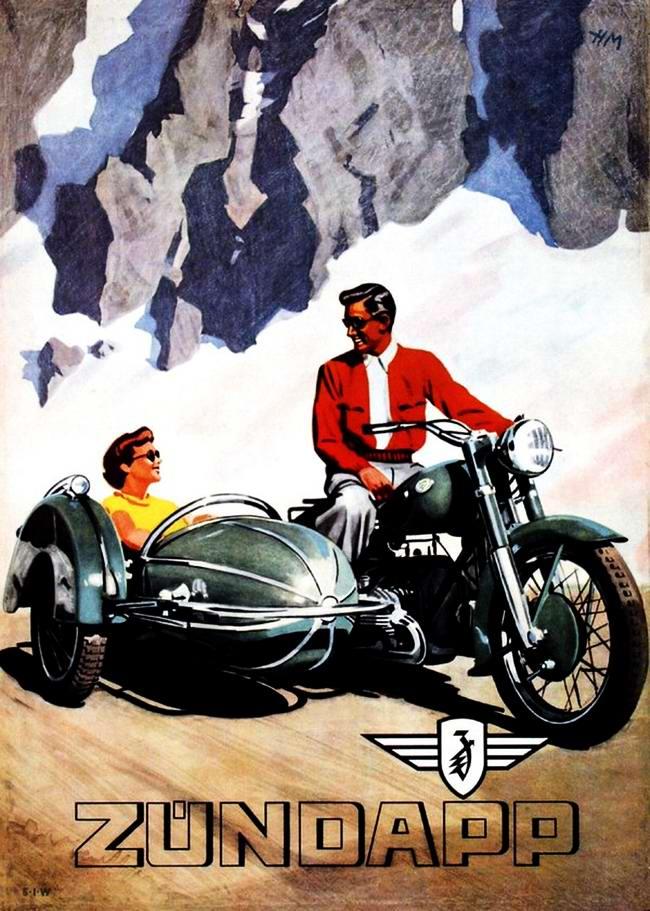 Zundapp - Германия (1950 год)