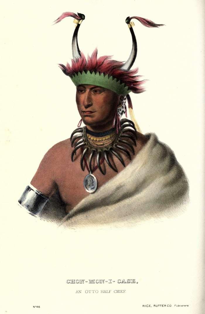 Вождь племени Otto Half