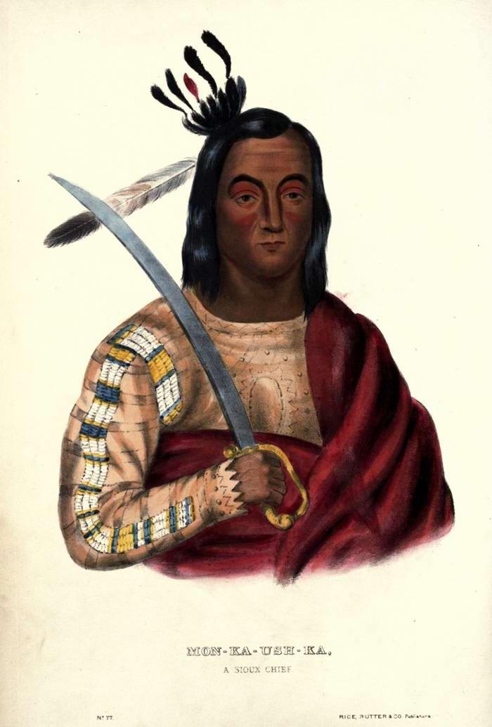 Вождь племени Sioux