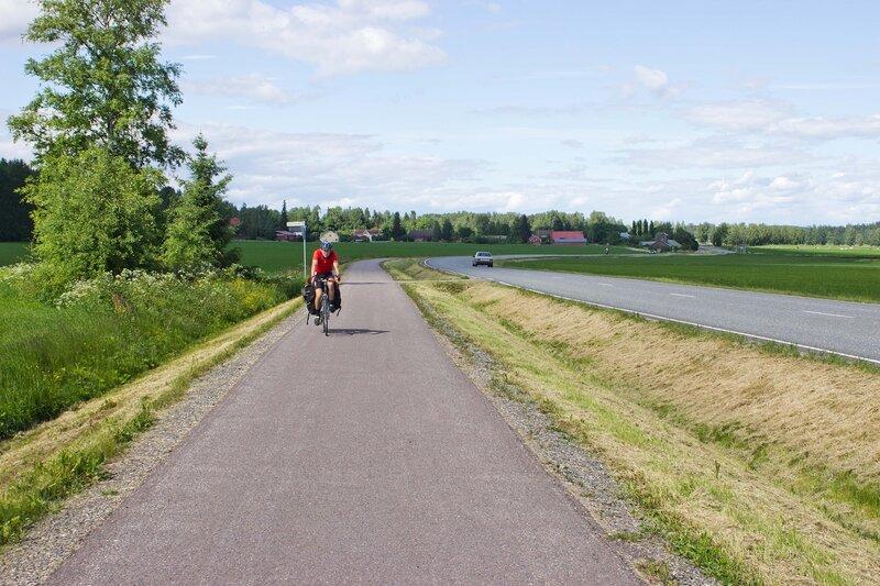 велодорожка от Пулккиланхарью до Ваксю