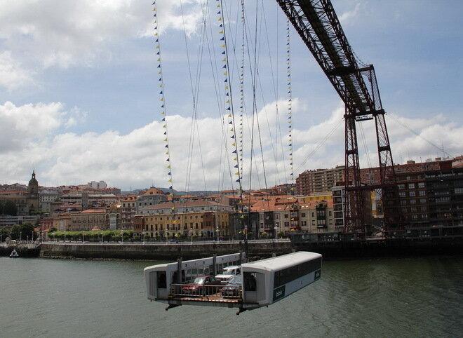 Бискайский мост. Бильбао, Испания