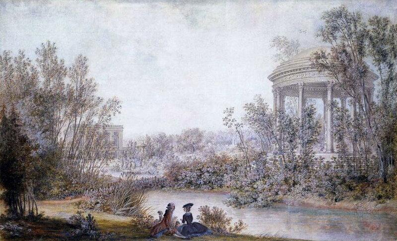 Versailles 37 4 for Jardin anglais du petit trianon