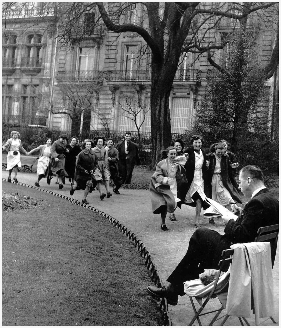 1953. Парк Монсо