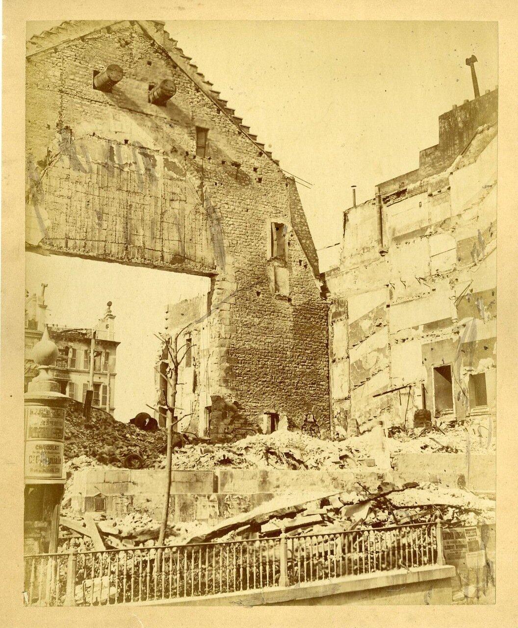Разрушенный театр де ла Порт Сен-Мартен