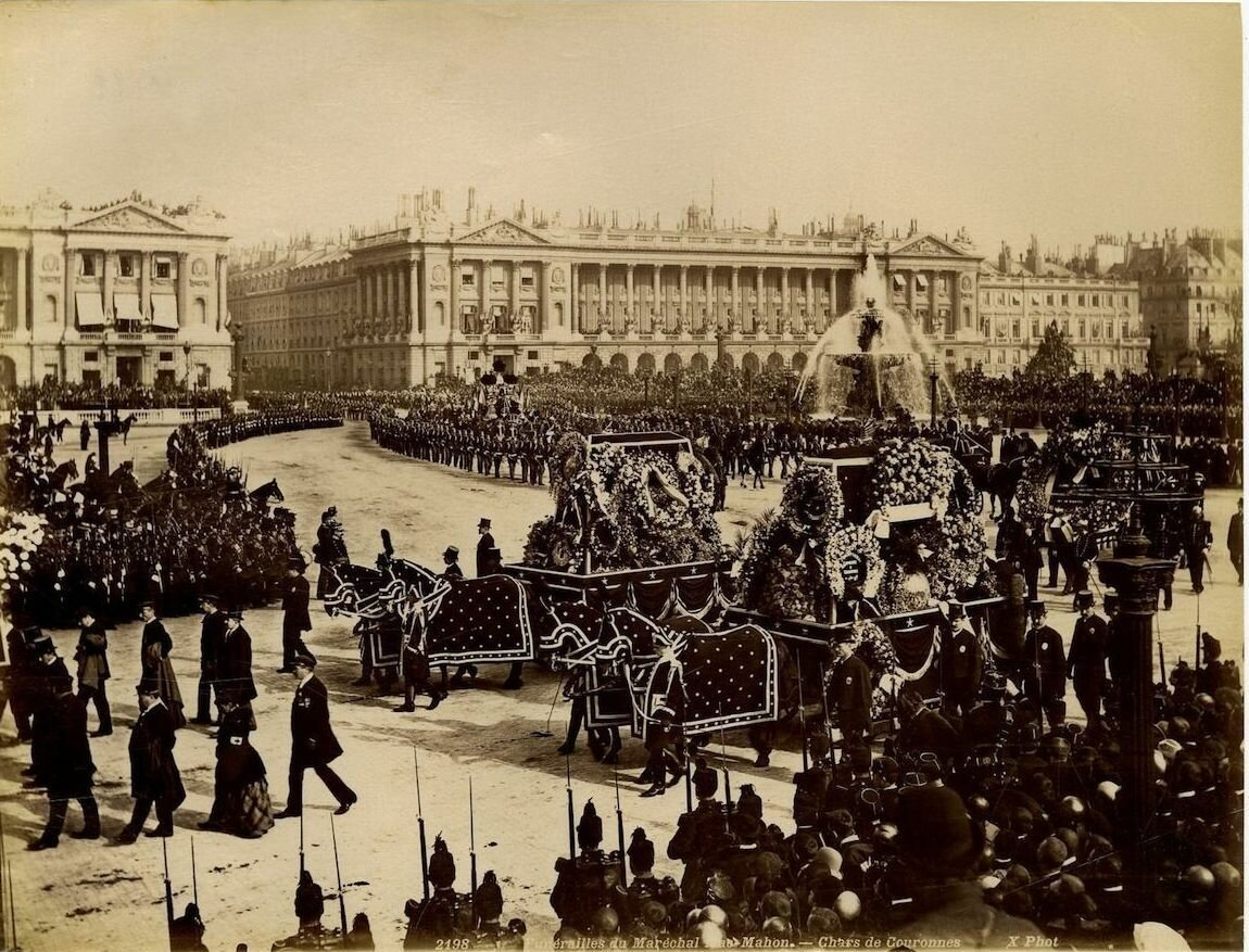 Похороны маршала Мак-Магона. 1893