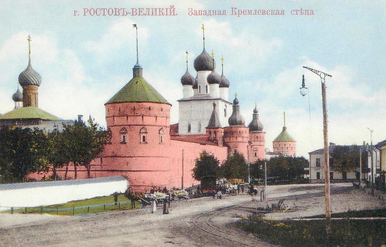 Кремль. Западная кремлевская стена