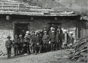 Начальная школа в деревне Верхней Сванетии