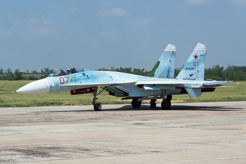 Сухой Су-27СМ (RF-92209 / 07 красный) D805587a