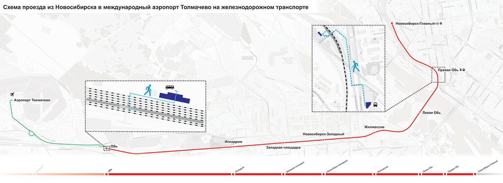 до аэропорта Толмачево вам