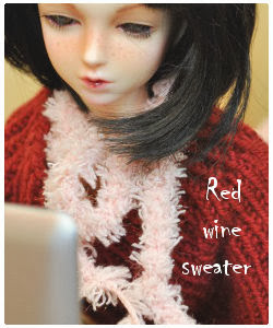 Sweater for MSD BJD