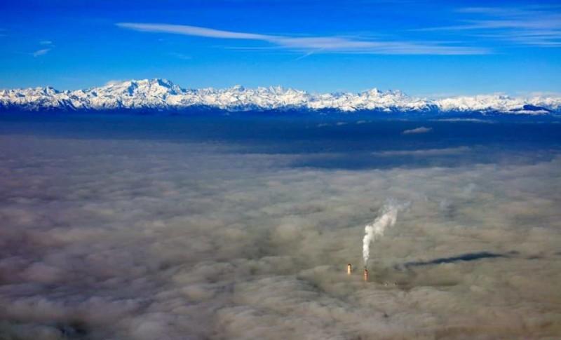 туман в милане