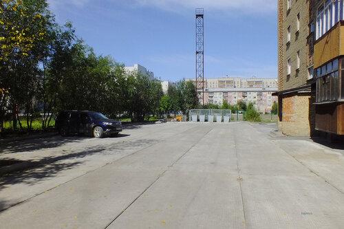 Фото города Инта №7060  Двор Куратова 52 13.08.2014_11:40
