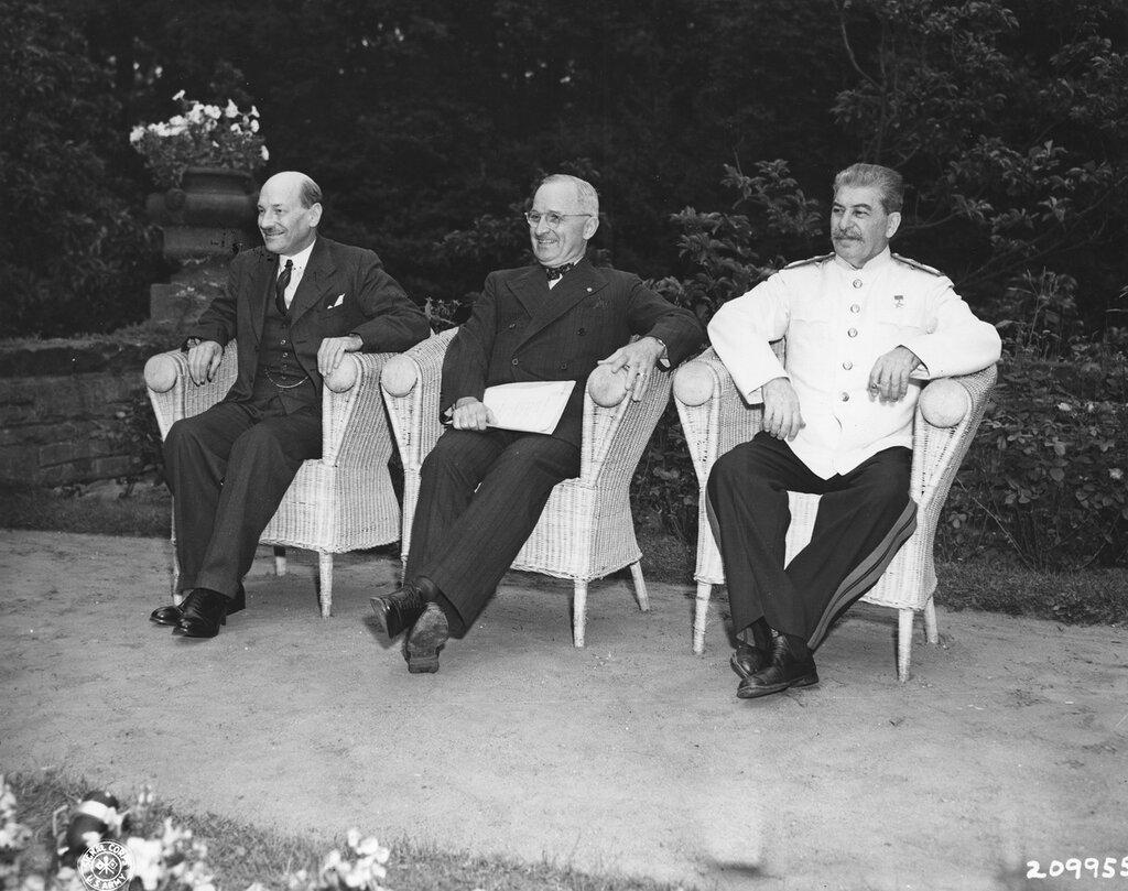 потсдамская конференция картинки