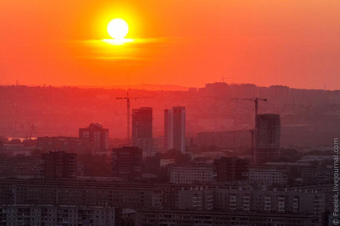 Солнце в красноярске