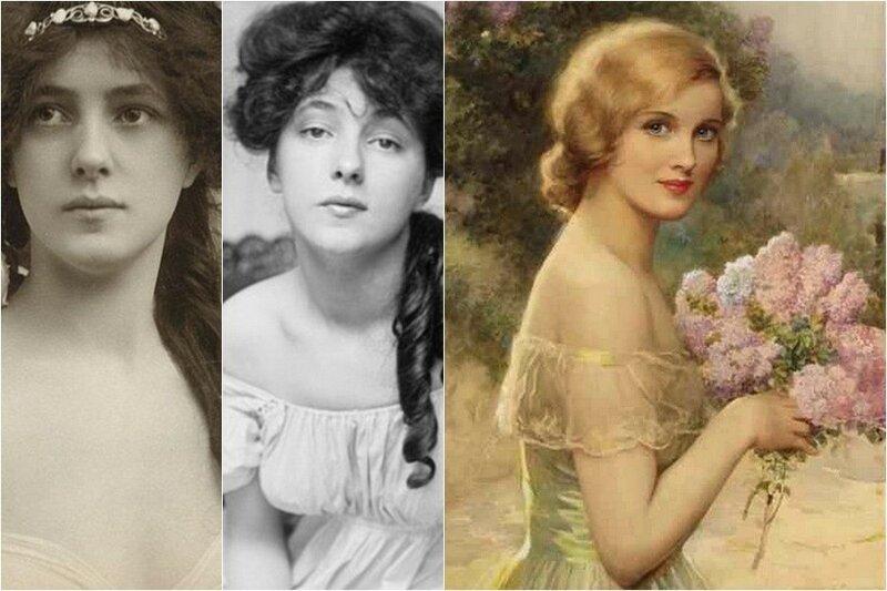 Польский костюмер показала, как на самом деле менялась женская красота