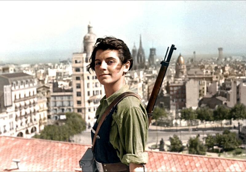 Барселона во время Гражданской войны