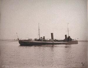 Общий вид минного крейсераМосквитянин.