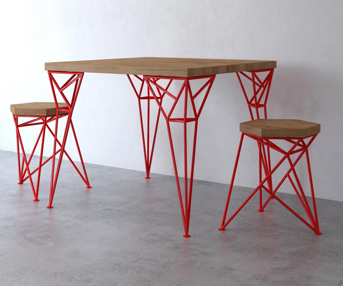 Uniquely, студия дизайна Uniquely, стол Apollo, табурет Spike, дизайнерская мебель фото, эксклюзивная мебель, обзор дизайнерской мебели