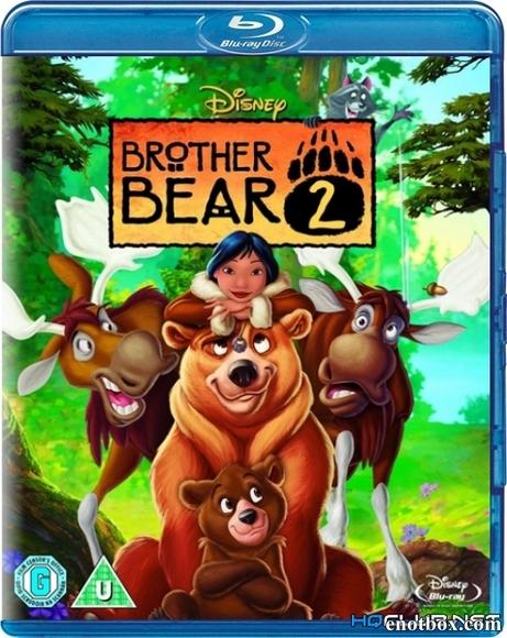 Братец медвежонок 2: Лоси в бегах / Brother Bear 2 (2006/BDRip/HDRip)