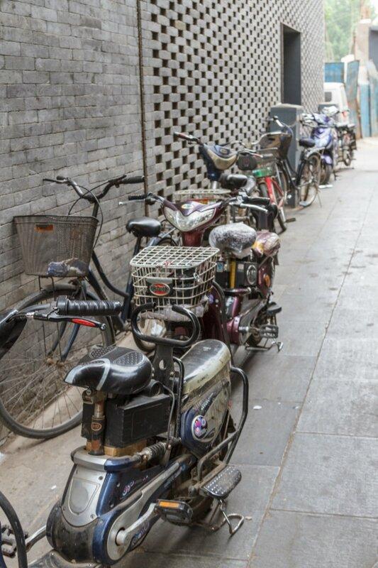 Мотоциклы и велосипеды, Пекин