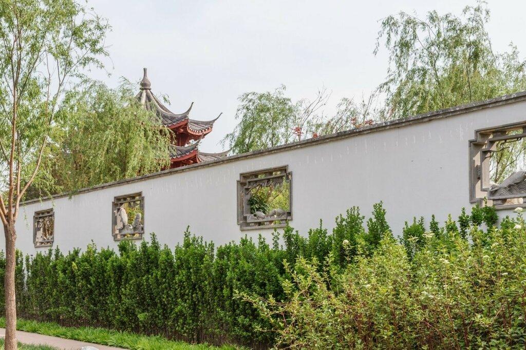 Ограда сада Ханчжоу, Парк-выставка садов, Пекин